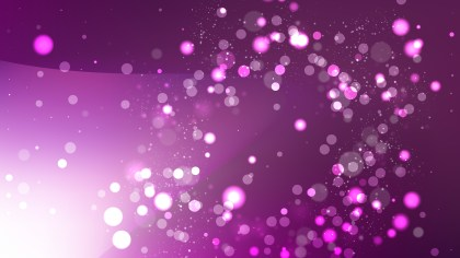 Abstract Dark Purple Bokeh Lights Background Vector