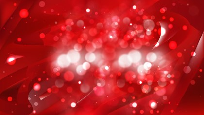 Abstract Dark Red Blurred Lights Background Image