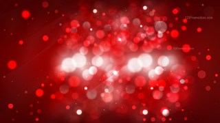 Abstract Dark Red Defocused Lights Background Image