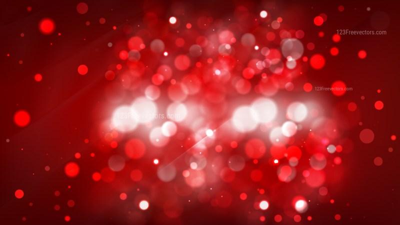 Abstract Dark Red Defocused Lights Background Image