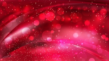 Abstract Dark Red Bokeh Lights Background Image