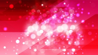 Abstract Folly Pink Blurred Lights Background Design