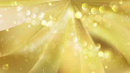 Abstract Gold Defocused Background Design