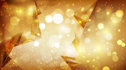 Abstract Gold Blurred Bokeh Background Design