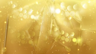 Abstract Gold Blurred Lights Background Design