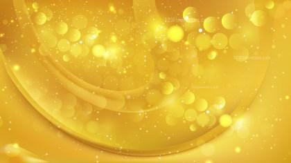 Abstract Gold Bokeh Defocused Lights Background Design