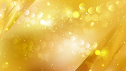 Abstract Gold Blurry Lights Background Vector