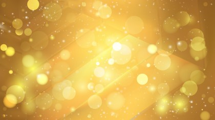 Abstract Gold Bokeh Background Image