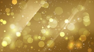 Abstract Gold Blurred Lights Background Image