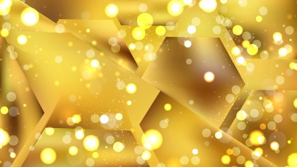 Abstract Gold Lights Background Design