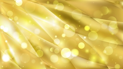 Abstract Gold Defocused Lights Background