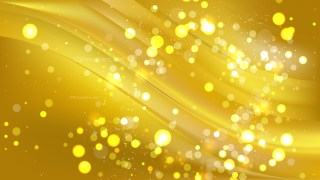 Abstract Gold Bokeh Background Vector