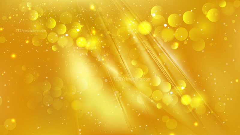 Abstract Gold Lights Background Vector
