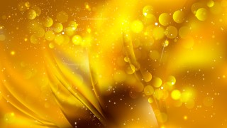 Abstract Gold Defocused Background Vector