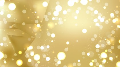 Abstract Gold Bokeh Defocused Lights Background Vector