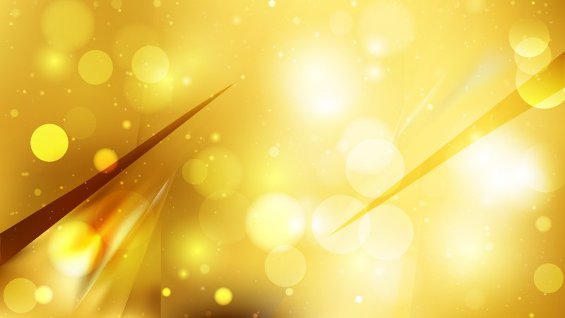 Abstract Gold Defocused Lights Background Vector