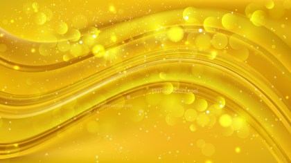 Abstract Gold Lights Background Image