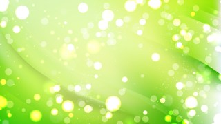 Abstract Green Bokeh Background Design