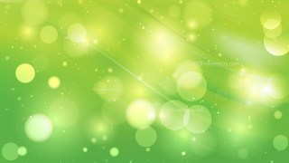 Abstract Green Defocused Lights Background Design