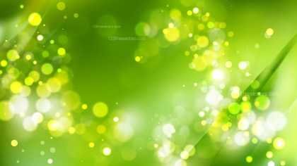 Abstract Green Blur Lights Background
