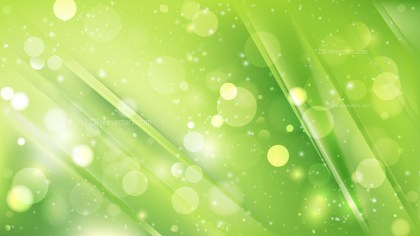 Abstract Green Blurred Lights Background