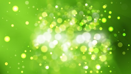 Abstract Green Defocused Lights Background