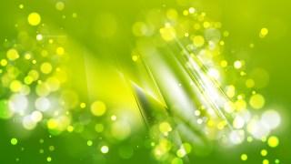 Abstract Green Bokeh Defocused Lights Background Vector