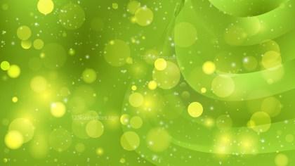 Abstract Green Bokeh Background Vector