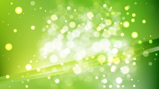 Abstract Green Blurry Lights Background Vector