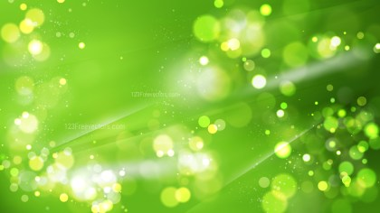 Abstract Green Defocused Background Vector