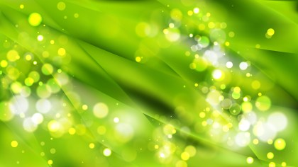 Abstract Green Blurred Lights Background Image