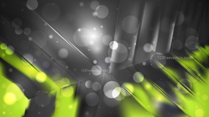 Abstract Green and Black Lights Background Image