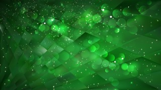 Abstract Green and Black Lights Background Design