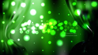 Abstract Green and Black Defocused Background