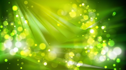 Abstract Green and Black Blurred Bokeh Background
