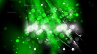 Abstract Green and Black Defocused Background Vector