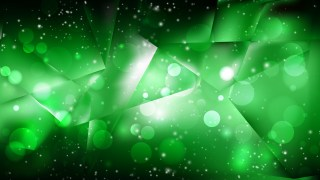 Abstract Green and Black Bokeh Defocused Lights Background Vector