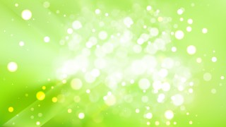 Abstract Green and White Blur Lights Background Design