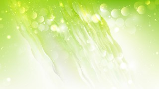 Abstract Green and White Blurred Bokeh Background Design