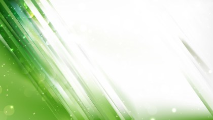 Abstract Green and White Bokeh Lights Background Design