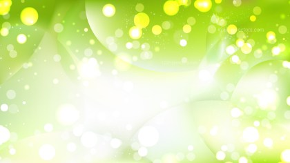 Abstract Green and White Defocused Background