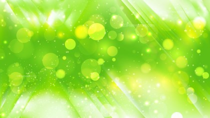 Abstract Green and White Defocused Lights Background