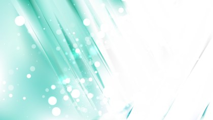 Abstract Green and White Bokeh Background Vector