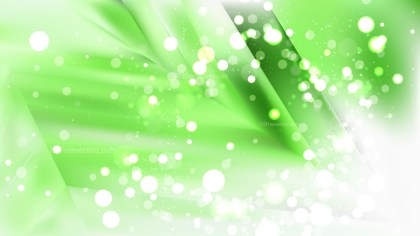 Abstract Green and White Defocused Background Vector