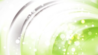 Abstract Green and White Bokeh Defocused Lights Background Vector