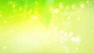 Abstract Green and Yellow Bokeh Defocused Lights Background Image