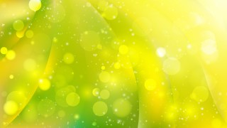 Abstract Green and Yellow Defocused Background Design