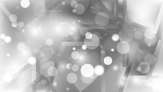 Abstract Grey Blurry Lights Background Vector