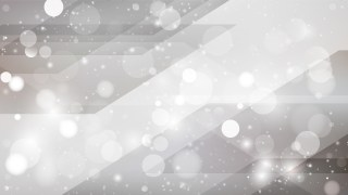 Abstract Grey Bokeh Lights Background Image