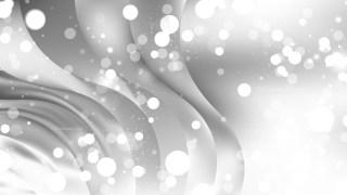 Abstract Grey Bokeh Defocused Lights Background Image